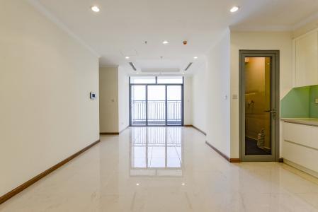 Căn hộ Vinhomes Central Park 2 phòng ngủ tầng cao L3 nội thất cơ bản