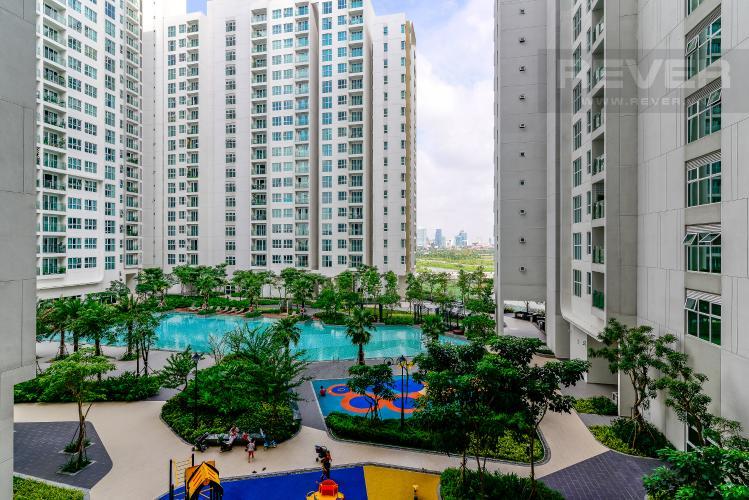 View Bán căn hộ Sadora Sala Đại Quang Minh 2PN, đầy đủ nội thất, view hồ bơi nội khu