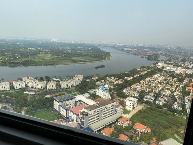 Căn hộ Masteri An Phú quận 2 Căn hộ Masteri An Phú tầng cao, đón view sông mát mẻ.