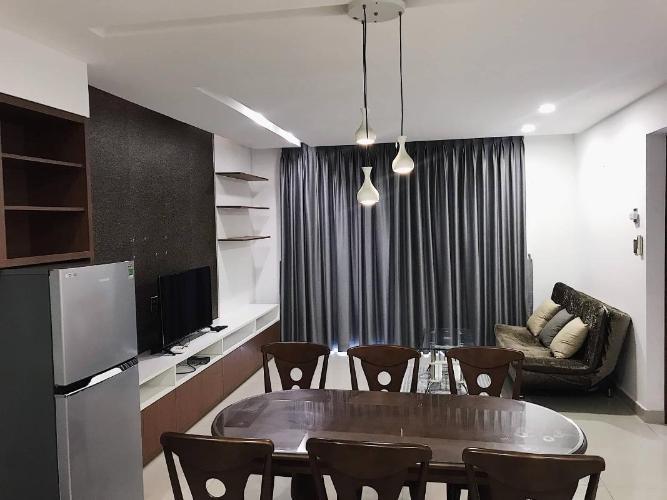 Cho thuê căn hộ La Bonita 2 phòng ngủ, tầng cao, đầy đủ nội thất, có ban công, view thành phố