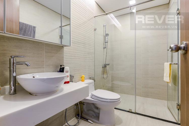 Phòng tắm 1 Căn hộ Vinhomes Central Park tầng thấp, Park 7, 2 phòng ngủ, view nội khu