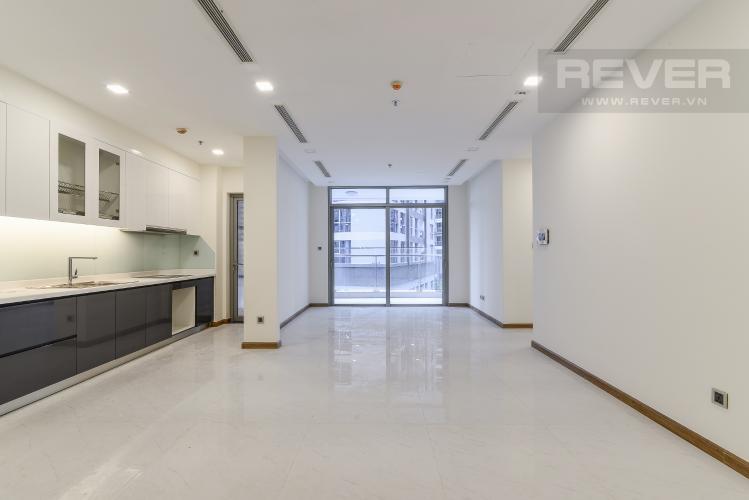 Phòng Khách Căn hộ Vinhomes Central Park 3 phòng ngủ tầng thấp P3 view nội khu