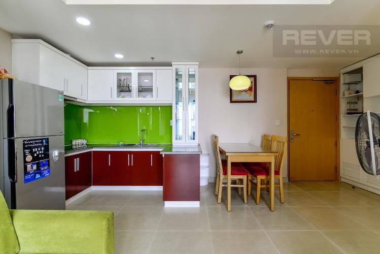 Bếp Cho thuê căn hộ Masteri Thảo Điền 2PN, tầng cao, đầy đủ nội thất, view khu dân cư rộng lớn