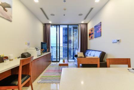 Căn hộ Vinhomes Golden River tầng cao, tháp The Aqua 1, 1PN, đầy đủ nội thất