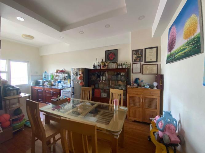 Căn hộ chung cư 26 Nguyễn Thượng Hiền bàn giao đầy đủ nội thất.