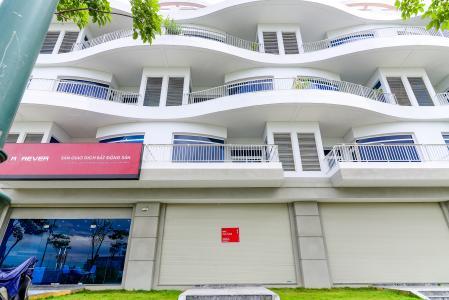 Cho thuê văn phòng 2 tầng Thủ Thiêm Lakeview 5PN, mặt tiền đường Ven Hồ Trung Tâm, hoàn thiện mặt ngoài