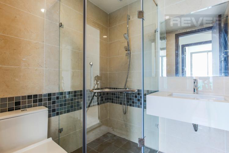 Phòng Tắm 2 Căn hộ The Tresor 2 phòng ngủ tầng cao TS1 nội thất cơ bản