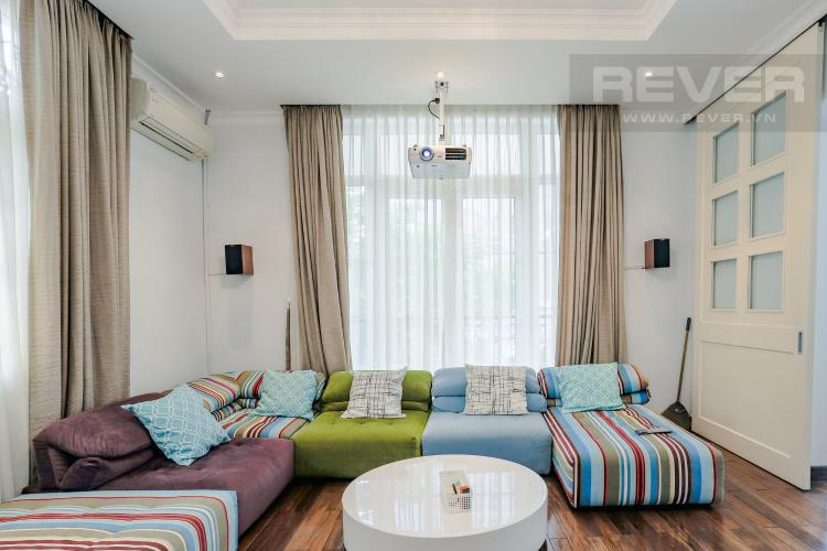 Phòng Xem Phim Nhà phố đường Lê Văn Lương, Quận 7, 3 tầng, nội thất đầy đủ, sổ đỏ chính chủ