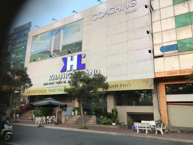 Trước nhà nhà phố quận 7 Bán nhà phố Khu dân cư Kim Sơn, Đường Nguyễn Hữu Thọ, Tân Phong, Quận 7, diện tích đất 103.16m2, diện tích sàn 463.6m2
