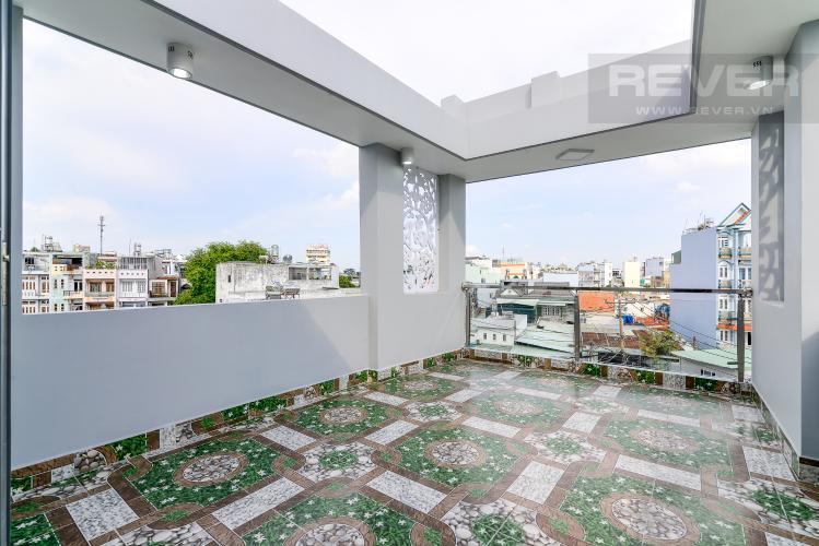 Sân Thượng Bán nhà phố đường nội bộ Bùi Quang Là, 2 tầng 4PN, nội thất cơ bản, diện tích sử dụng 150m2