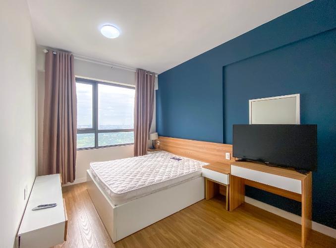 phòng ngủ căn hộ Masteri Thảo Điền Căn hộ Masteri Thảo Điền view sông và thành phố, đầy đủ nội thất.
