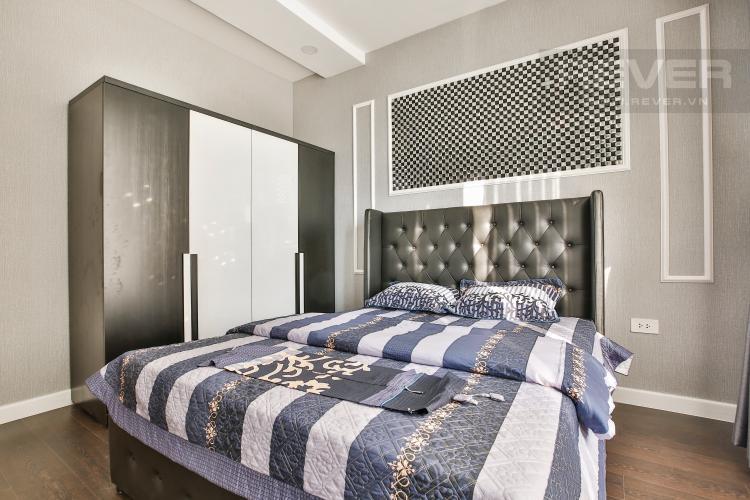 Phòng Ngủ 1 Căn hộ The Tresor 2 phòng ngủ tầng trung TS1 view sông