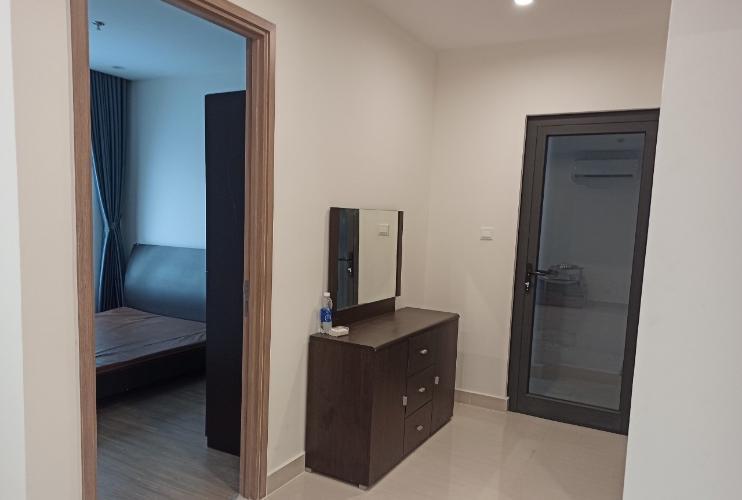 phòng ngủ 1  Căn hộ Vinhomes Grand Park tầng thấp đón view nội khu.