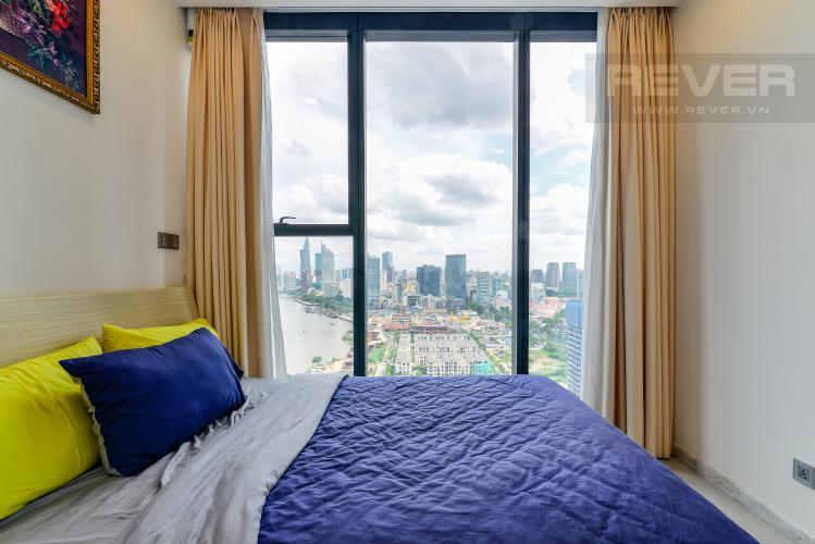 Phòng Ngủ 1 Bán căn hộ Vinhomes Golden River 2PN, tầng trung, tháp The Aqua 4, đầy đủ nội thất, view sông Sài Gòn