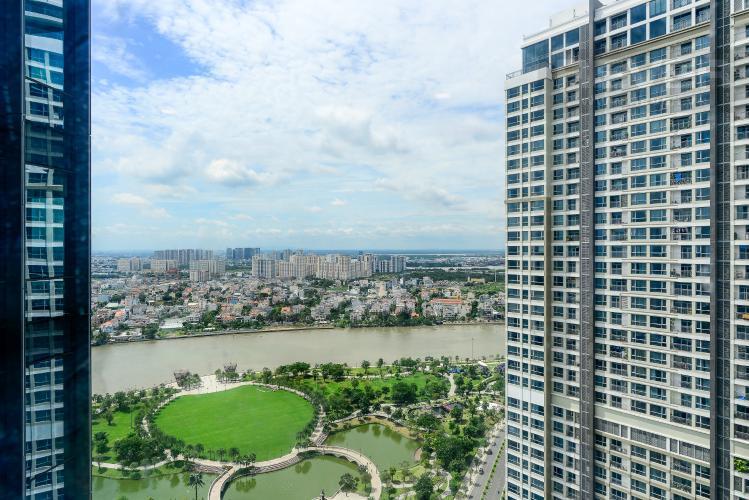 View Bán hoặc cho thuê căn hộ Vinhomes Central Park 3PN, tháp Landmark 81, đầy đủ nội thất, view sông Sài Gòn