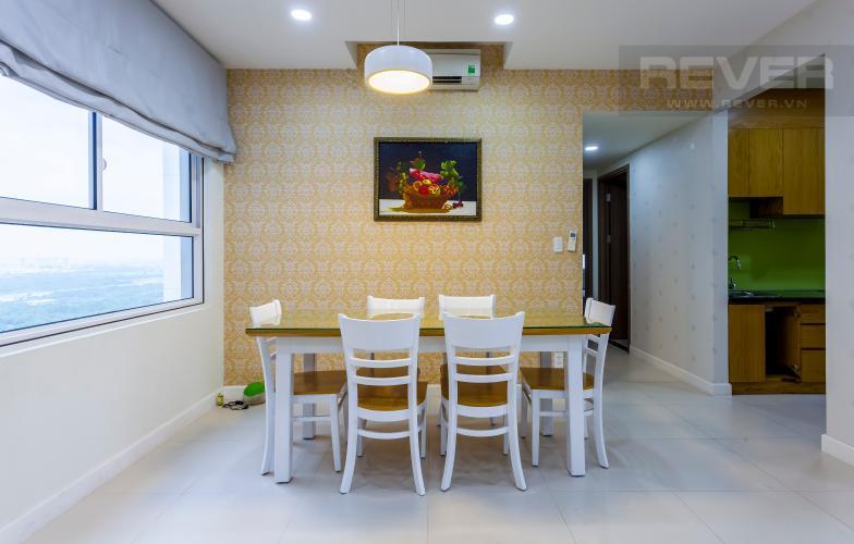 Bàn ăn Căn góc Lexington Residence tầng cao LB đầy đủ nội thất, tiện nghi