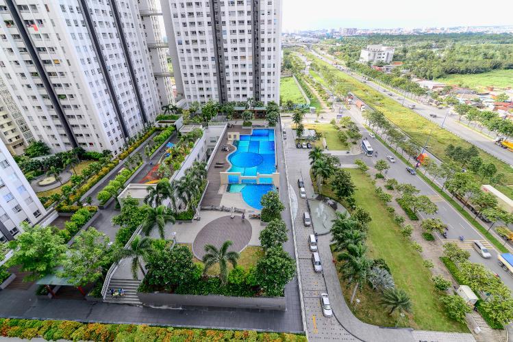 View Cho thuê căn hộ Lexington Residence 3PN, tháp LA, đầy đủ nội thất, view hồ bơi