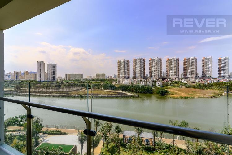 View Cho thuê căn hộ Diamond Island - Đảo Kim Cương 2 phòng ngủ, view sông thoáng đãng