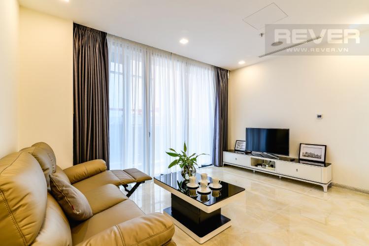 Phòng Khách Căn hộ Vinhomes Golden River 2 phòng ngủ tầng cao A3 nội thất đầy đủ