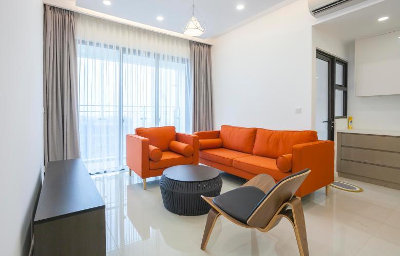 Phòng Khách Căn hộ Estella Heights 2 phòng ngủ tầng cao T1 đầy đủ nội thất
