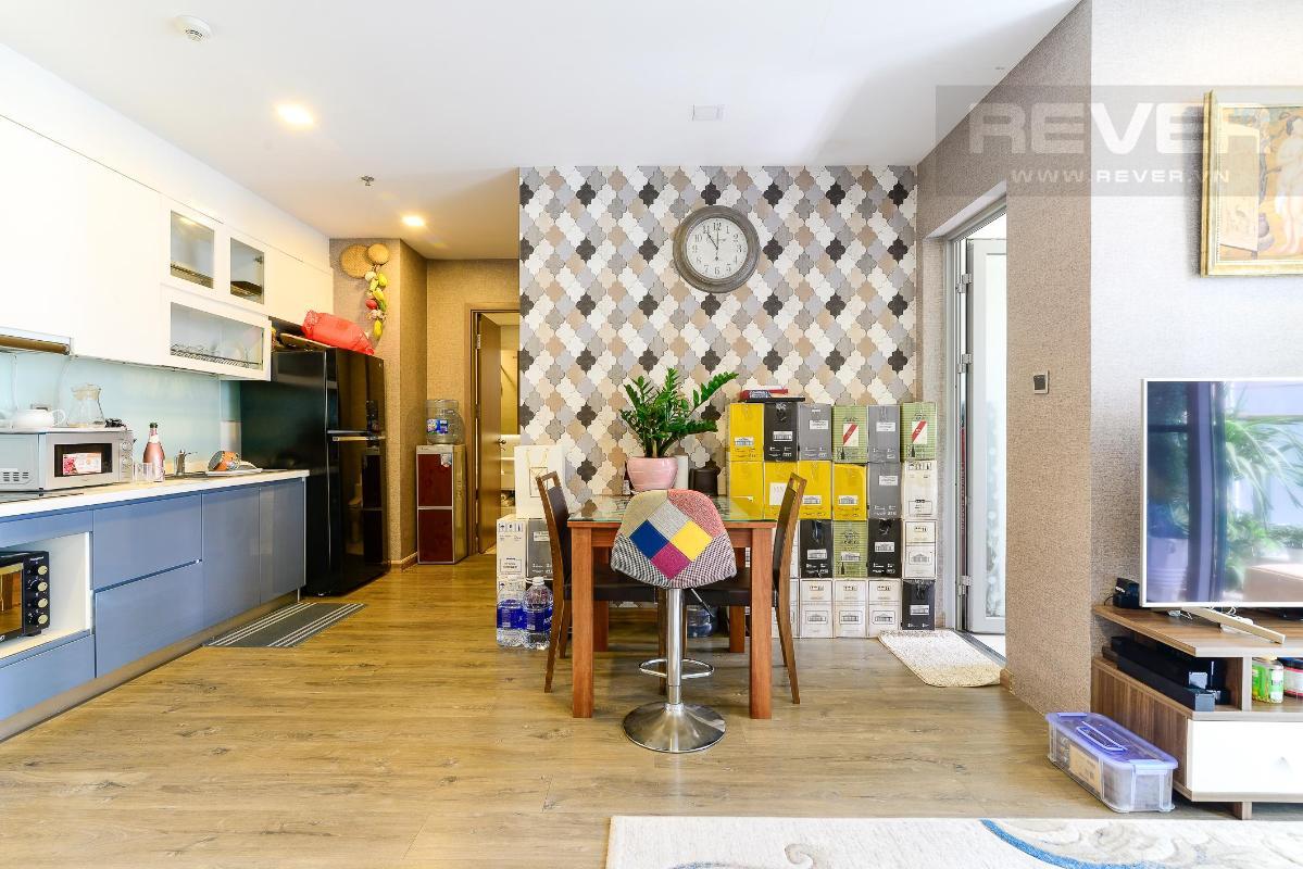 24 Cho thuê căn hộ Vinhomes Central Park 2PN, tháp Park 1, đầy đủ nội thất, view sông thoáng mát