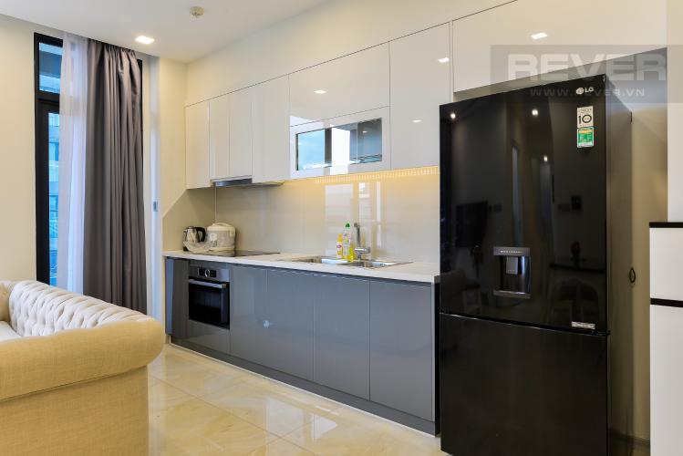 Nhà Bếp Cho thuê căn hộ Vinhomes Golden River 2PN, tầng thấp, tháp The Aqua 3, đầy đủ nội thất, view sông thoáng mát