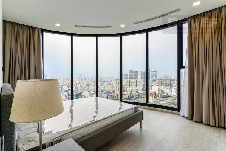 Phòng Ngủ 2 Cho thuê căn hộ Vinhomes Golden River tầng cao 3PN view sông