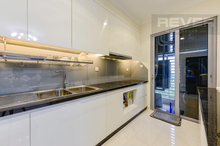Bếp Căn góc Vinhomes Central Park 4 phòng ngủ tầng thấp Landmark 1