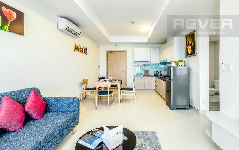 Bếp Cho thuê căn hộ M-One Nam Sài Gòn tầng trung, 2PN, đầy đủ nội thất