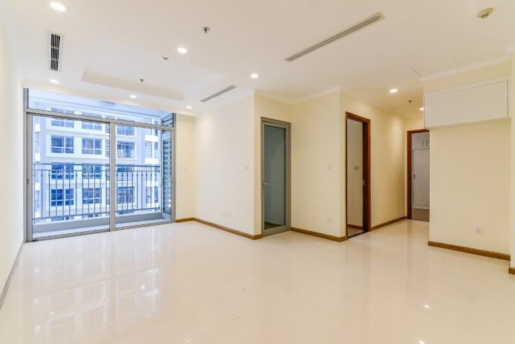 Officetel Vinhomes Central Park 2 phòng ngủ tầng cao L5 hướng Tây Nam