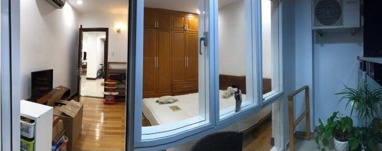Phòng ngủ căn hộ Him Lam Riverside, Quận 7 Căn hộ Him Lam Riverside tầng 15 đầy đủ nội thất, view thành phố.