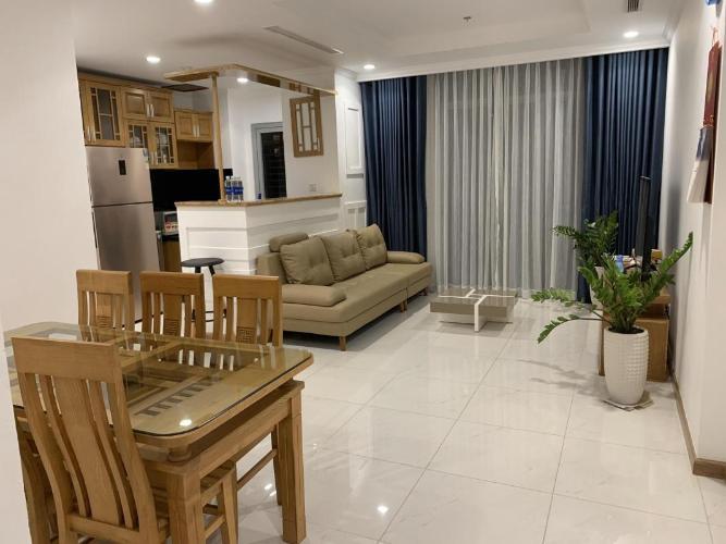 Cho thuê căn hộ Vinhomes Central Park 2PN, tháp Landmark 2, đầy đủ nội thất, view thành phố