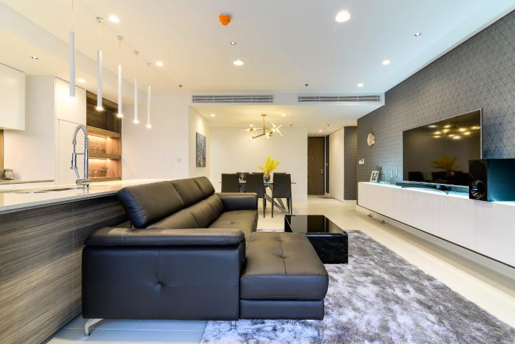 Cho thuê căn hộ 3 phòng ngủ thuộc dự án City Garden, Bình Thạnh