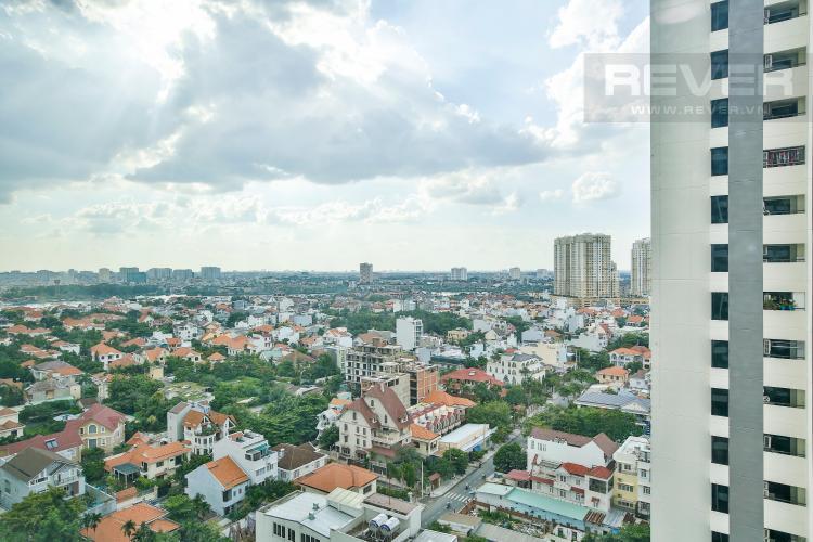 View toàn cảnh nhìn từ căn hộ Căn hộ The Ascent tầng cao hướng Bắc tháp B