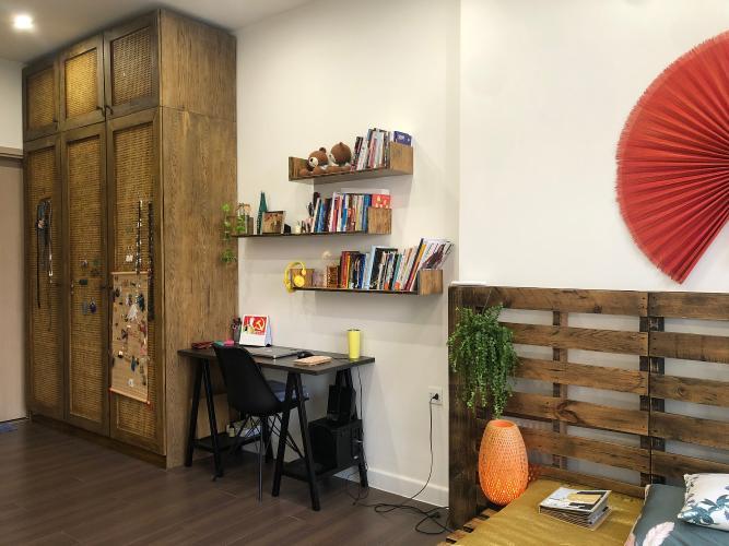 Phòng ngur Căn hộ The Sun Avenue Căn hộ The Sun Avenue đầy đủ nội thất vintage, thiết kế nổi bật.