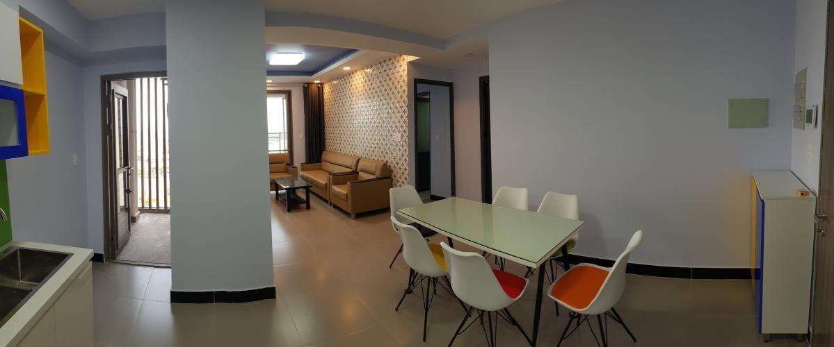 Nội thất căn hộ Saigon South Residence Căn hộ Saigon South Residence tầng cao, đầy đủ nội thất hiện đại