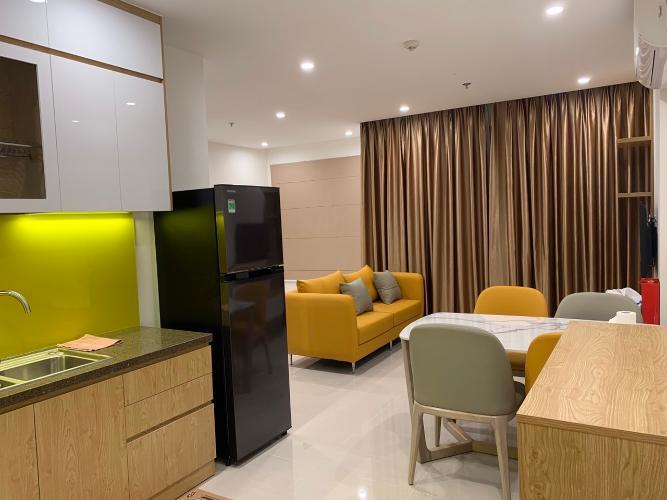 Phòng khách Vinhomes Grand Park Quận 9 Căn hộ Vinhomes Grand Park nội thất đầy đủ, hướng nội khu.