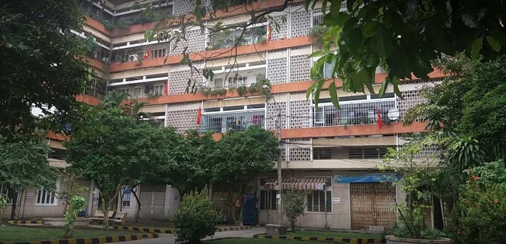 Chung cư Nhiêu Lộc, Tân Phú Căn hộ chung cư Nhiêu Lộc view khu dân cư yên tĩnh, thoáng mát.