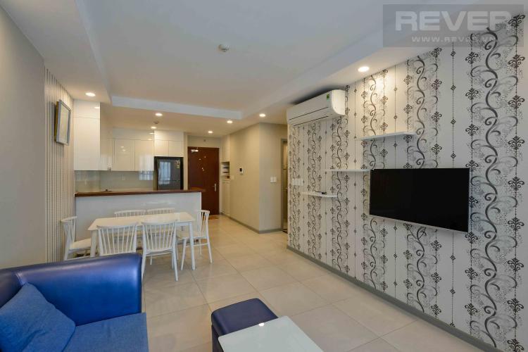 Phòng khách căn hộ THE GOLD VIEW Căn hộ The Gold View 2 phòng ngủ, tầng 23, đầy đủ nội thất