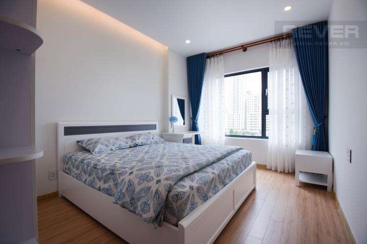 Phòng Ngủ 2 Căn hộ New City Thủ Thiêm tầng thấp, tòa Babylon gồm 2 phòng ngủ, nội thất đầy đủ