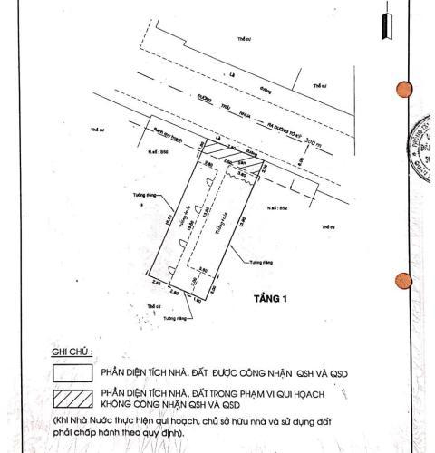Nhà 1 trệt 2 lầu hẻm xe hơi đường Tô Ký, Khu phố 6, phường Trung Mỹ Tây, Quận 12 Bán nhà phố 1 trệt 2 lầu hẻm cách đường Tô Ký 300m