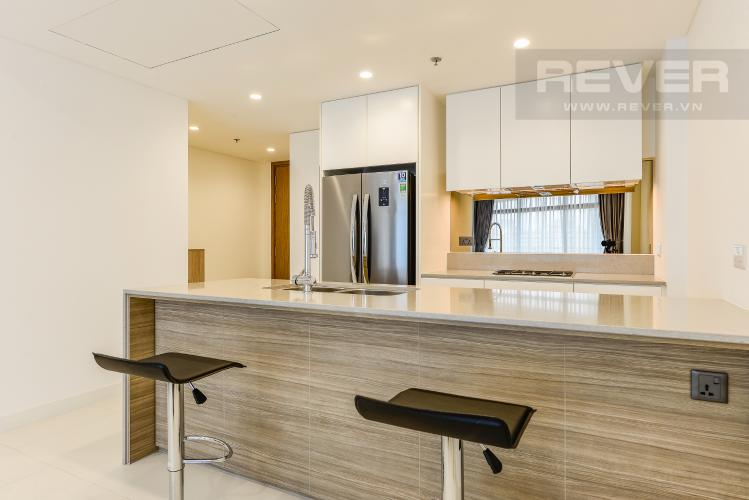 Bếp Cho thuê căn hộ City Garden tầng trung, 1PN, đầy đủ nội thất