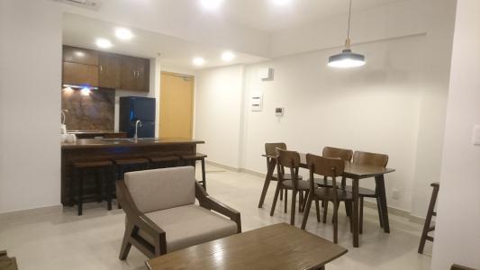 Cho thuê căn hộ Masteri Thảo Điền 2PN, tầng thấp, căn góc tháp T2, diện tích 70m2, đầy đủ nội thất