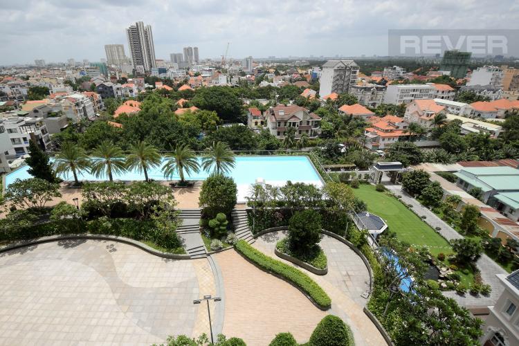 View Căn hộ Thảo Điền Pearl tầng thấp, tháp 1, 2 phòng ngủ, full nội thất