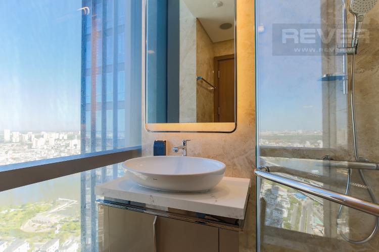 Phòng Tắm 1 Căn hộ Vinhomes Central Park 2PN, tầng cao, tháp Landmark 81, view sông