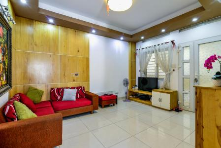 Căn hộ Chung Cư Khánh Hội 1 tầng thấp 2 phòng ngủ nội thất đầy đủ
