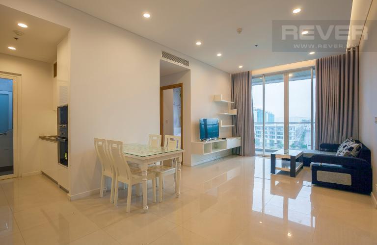 Tổng Quan Căn hộ Sarimi Sala Đại Quang Minh 2 phòng ngủ tầng thấp A1