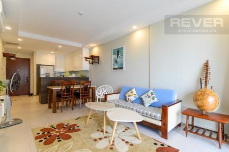 Cho thuê căn hộ The Gold View 2PN, tháp A, đầy đủ nội thất, view hồ bơi và kênh Bến Nghé