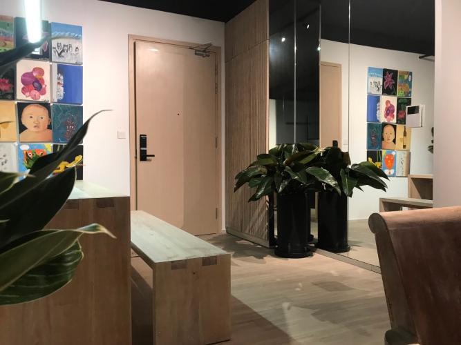 Không gian căn hộ Palm Heights , Quận 2 Căn hộ Palm Heights tầng 9 nội thất gỗ hiện đại đầy đủ, thiết kế sang trọng.