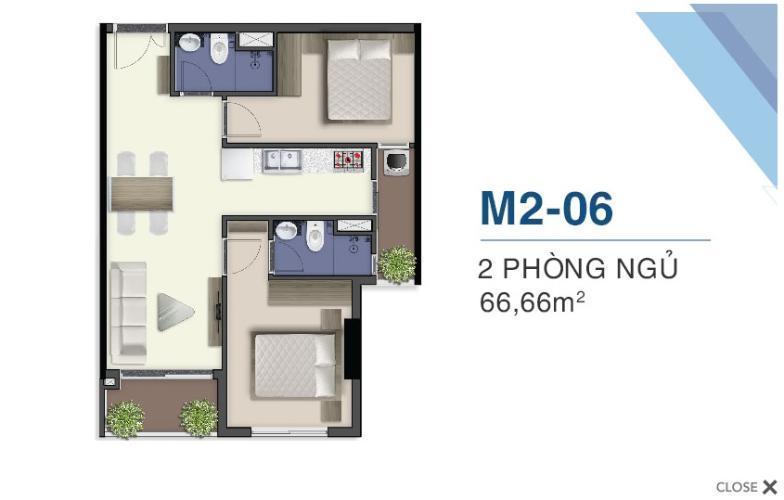 Mặt bằng nội thất Q7 Saigon Riverside Bán căn hộ Q7 Saigon Riverside tầng cao, view hồ bơi nội khu.